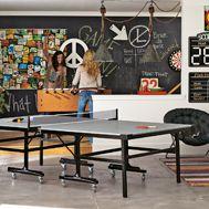 game room - chalk board wall
