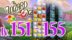 Wizard of Oz: Magic Match - Level 151 - 155 (1080/60fps)
