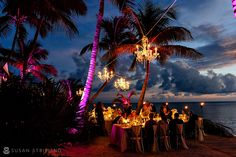 Love the chandeliers and palm trees ~Susan Stripling