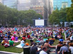 From free outdoor movies to a boat trip with views of Lady Liberty, here are 10 free things to do with kids in New York City this summer. | About.com Family Vacations