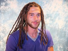 Magic Style Dreadlocks Tuning: Frisch nachgearbeitete Dreadlocks