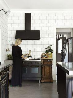 Black matte kitchen appliances