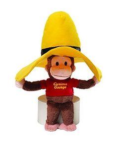 2e8c5e020f GUND Curious George in Yellow Hat Plush Curious George Stuffed Animal