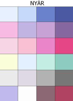 nyár színei Summer Colors, Warm Colors, Colours, Soft Summer, Jewel Tones, Four Seasons, Paint Colors, Palette, Cool Stuff