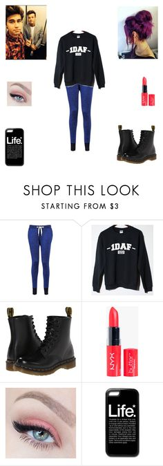 """Fun Day With Nash and Cameron"" by nikolestyles ❤ liked on Polyvore featuring Zoe Karssen and Dr. Martens"