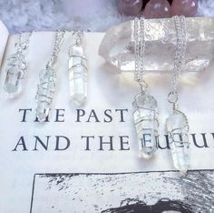 Image of 'Lover Of The Light' Clear Quartz necklace.