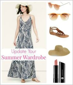 It's hard to believe it's just a few short weeks until the unofficial start to summer begins! Here are some pieces to add to your summer wardrobe that will help you look right on trend! #graceandbeautystyle #summerfashion #summer #trends
