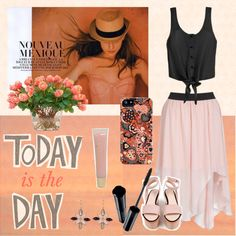"""Today is the day"" by tangerinetane ❤ liked on Polyvore"