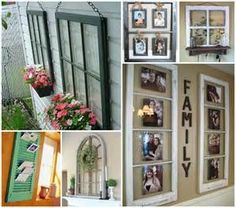 old window ideas on Pinterest | Old Window Frames, Old Windows and ...