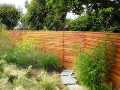 Wood slat walls