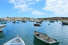 Malta, blue, water, boat, love, travel, trip,