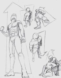If you use any of my poses, it'd be nice to be credited. Thanks in advance! More poses. More sketches here: [link] [link] Human Perspective 1 -low and high views Drawing Studies, Drawing Skills, Drawing Techniques, Anatomy Drawing, Manga Drawing, Drawing Sketches, Drawings, Sketching, Drawing Tips
