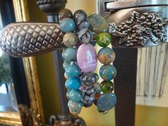 Trio of Beaded Bracelets by ElliTs on Etsy