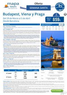 Budapest-Viena-Praga Semana Santa desde Barcelona**Precio final desde 839** ultimo minuto - http://zocotours.com/budapest-viena-praga-semana-santa-desde-barcelonaprecio-final-desde-839-ultimo-minuto-2/
