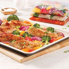 Iced maple chicken for bags to freeze – S … - Recipes Easy & Healthy Easy Healthy Recipes, Easy Meals, Maple Chicken, 17 Day Diet, Supper Recipes, Mets, Bruschetta, Chicken Recipes, Turkey