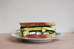 Avocado, Spinach and Brie Sandwiches Brie Sandwich, Sandwiches, Spinach, Avocado, Yummy Food, Eat, Healthy, Kitchen, Cooking