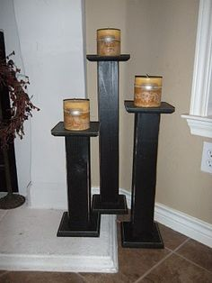 easy candle sticks