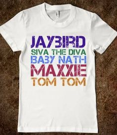 The Wanted Nickname - Shirt omg! I need this!!! :D