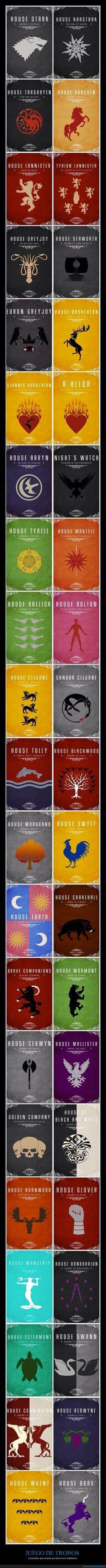 42 posters de Juego de Tronos que vas a querer en tu habitación
