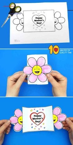 Happy Mothers Day Card Template Happy Mothers Day Card Template  <br>