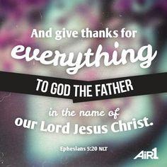 Ephesians 5:20