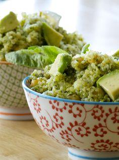 Virtual Vegan Potluck: Three Herb Quinoa Salad