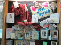Marriage ! ..Nuptials ! ..Holy Matrimony ! .. Wedlock !..Espousal !.. Union !...Match !.... Display at G Harrington Library ...   Flickr - Plano.Library