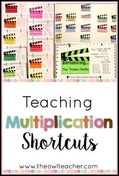 Teaching Multiplication Shortcuts