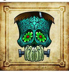 Frank sugar skull