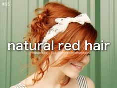 natural red hair | Tumblr