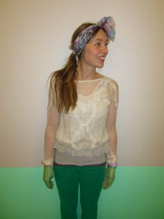 Shirt; Zara, Scarf; selfmaid and -painted, Jeans; Superfine Dress Up, Zara, Jeans, Shirts, Outfits, Tops, Women, Fashion, Moda