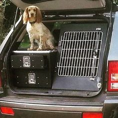 Photo emailed into us over the weekend from a happy customer and his Springer Fred, of there bespoke dog box and double tier drawer unit. #jeep #jeepcherokee #gundrawers #dogbox #dogunit #dogboxes #shootingdrawers #springer #springerspaniel #gundogs #animaltransitboxes #shooting