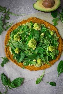 Vegan Sweet Potato Pizza with Guacamole Topping   Vanillacrunnch   Food & Lifestyle Blogger