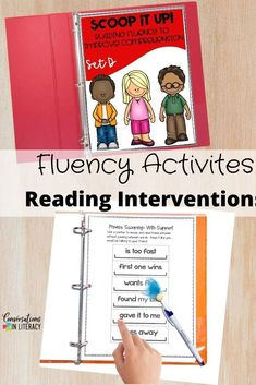 Effective Strategies and activities that improve fluency! Ideas, activities and games for Fluency phrases and fluency passages for reading practice, guided reading small groups, reading interventions and special education. #firstgrade #secondgrade #thirdgrade #conversationsinliteracy #phonics #fluency #comprehension #classroom #elementary #backtoschool #fluencystrategies #readinginterventions #guidedreading #sightwords 1st grade, 2nd grade, 3rd grade