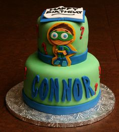 Super Why Birthday Cake by Lucky Penny Cakes, via Flickr