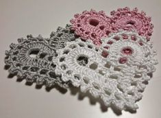 Best 12 Doily By Anabelia With Free Crochet Elephant Pattern Free, Crochet Snowflake Pattern, Crochet Snowflakes, Granny Square Crochet Pattern, Crochet Stitches Patterns, Thread Crochet, Crochet Motif, Crochet Crafts, Crochet Doilies