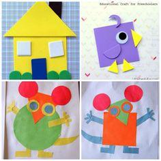 702 Mejores Imágenes De Figuras Geometricas Preschool Geometric
