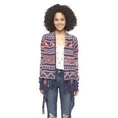Long Sleeve Fringe Sweater Black L - Self Esteem - #Target #Coupon #Codes #Promocodes #Discounts #Deals #Offers #Dresses #sweaters