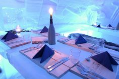 Igloo Villages & Northern Lights Igloos in Finland Lapland Northern Lights Igloo, Igloo Village, Holidays In Finland, Places Around The World, Around The Worlds, Crazy Houses, Ice Hotel, Unique Restaurants, Winter Scenes