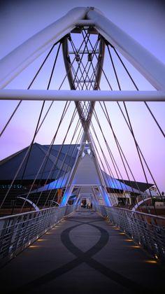 Bridge at Tempe Beach Park, Tempe, AZ. ▬Please visit my Facebook page at: www.facebook.com/jolly.ollie.77