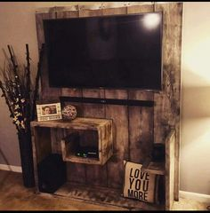 Diy entertainment center for wall mounted tv mounting mount wall units entertainment wall mount wall mounted . diy entertainment center for wall mounted tv Tv Stand And Entertainment Center, Entertainment Center Decor, Entertainment Units, Wood Pallets, Recycled Pallets, Pallet Wood, Pallet Benches, Pallet Walls, Pallet Couch