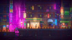 Future Metropolis of Cyberpunk