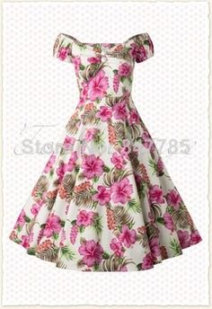 2014summer women vintage 50s retro rockabilly pin up floral print  sweetheart neck swing midi cotton plus