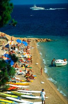 The beautiful beaches of Croatia