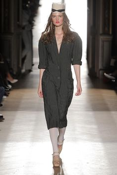 Look 22 at Vivienne Westwood #SS15 Gold Label