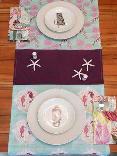 Tischläufer karibisch, www.facettenreich.at