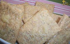 Riquísimas galletitas integrales de sésamo y queso - El Gran Chef