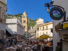 Amalfi Main Square | We took the ferry to Amalfi and then th… | Flickr - Photo Sharing!