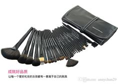 New Professional Makeup Brush Set Make-up For YouToiletry Kit Wool Black Brand Make Up Brush Set Case Free DHL Makeup Brush Sets Pony Hair Makeup Brushes Cosmetic Case Online with $17.19/Set on Annychan29's Store | DHgate.com