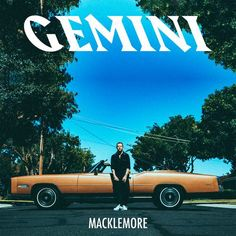 GEMINI is Macklemore's first studio album after parting ways with producer Ryan Lewis and with that his first solo album after twelve years. It came September The album Cool Album Covers, Music Album Covers, Music Albums, Cd Music, Mac Miller, Rapper, Hip Hip, Gemini 2017, Solo Album